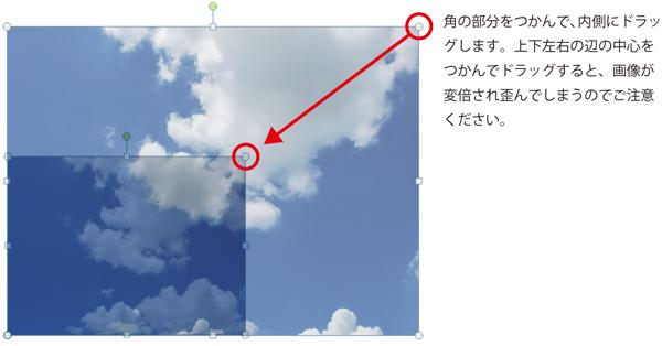 画像を配置する場合は、出来るだけ大きめのものを縮小して配置されることをおすすめします。