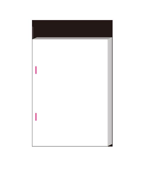 pdf 製本印刷 ホチキス