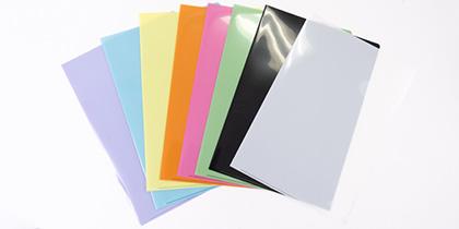 フルカラークリアファイル本体色画像