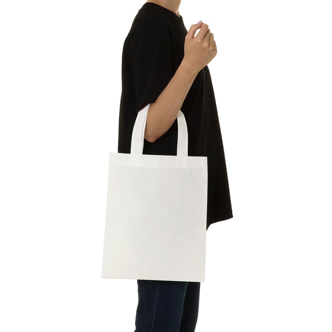 不織布生地のトートバッグ商品例