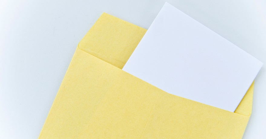 封筒デザインのためのベーシックポイント