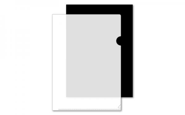 クリアファイル白版について