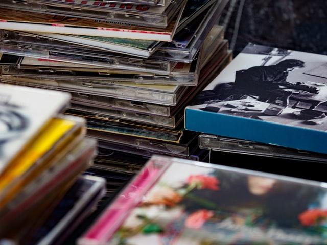 CDブックレットの写真