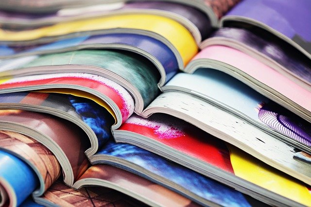 色とりどりの冊子