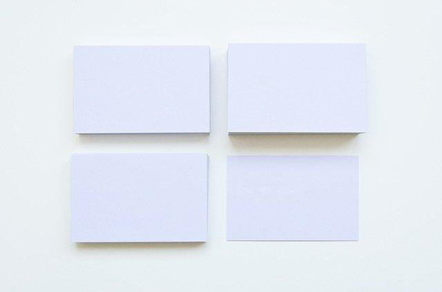 カードが並んでいる画像