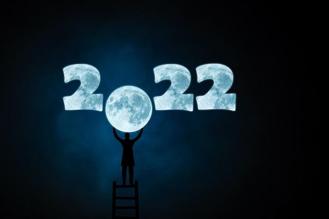 2022年と月