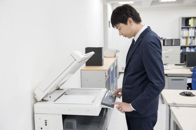 オフィスのコピー機